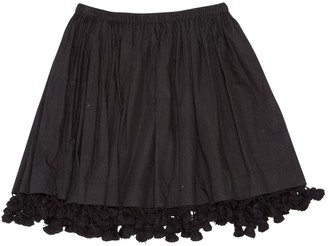 Miu Miu Black Cotton Skirt for Women