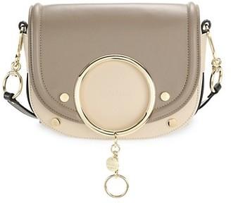 See by Chloe Mara Two-Tone Leather Crossbody Bag