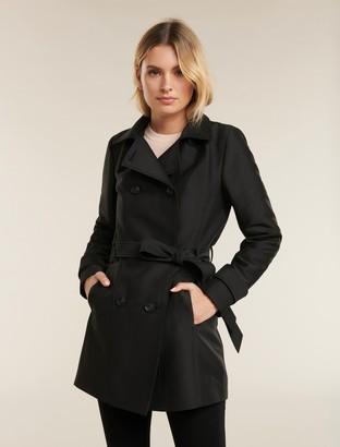 Forever New Sara Trench Coat - Black - 16