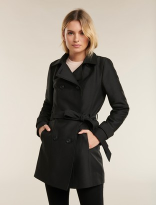 Forever New Sara Trench Coat - Black - 4