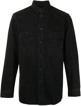 SONGZIO Button-Up Denim Shirt