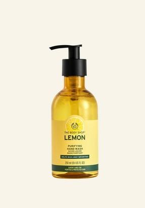 The Body Shop Lemon Purifying Hand Wash