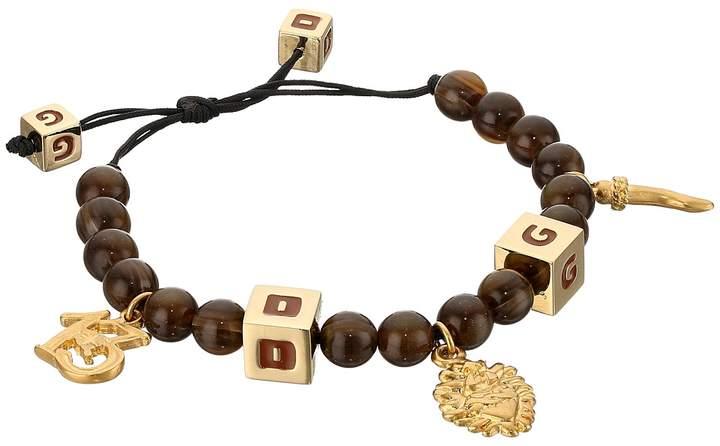 Dolce & Gabbana Tiger Eye Bracelet