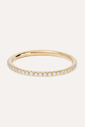 Ileana Makri Thread 18-karat Gold Diamond Eternity Ring - 54