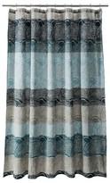 Threshold Scallop Dot Shower Curtain