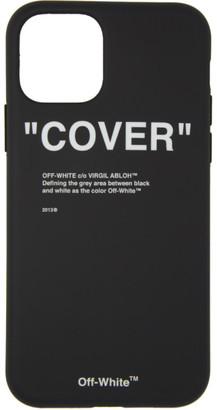 Off-White SSENSE Exclusive Black Quote iPhone 11 Pro Case