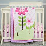 Dream On Me 3-pc. Reversible Spring Garden Mini Crib Set