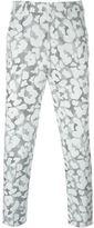 Neil Barrett graphic leopard print trousers