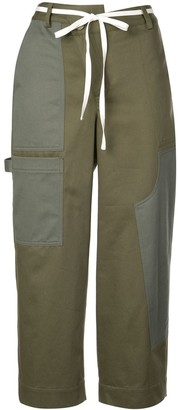 Monse Wide-Leg Cargo Trousers
