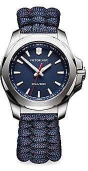 Victorinox Men's I.N.O.X. Paracord Bracelet Analog Watch