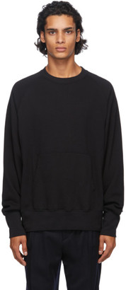 Nanamica Black Crewneck Sweater