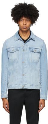 HUGO BOSS Blue Denim Pastel Jacket