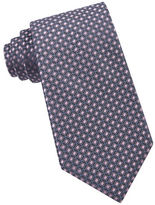 MICHAEL Michael Kors Diamond-Patterned Silk Tie