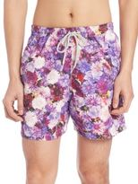 Saks Fifth Avenue Collection Chrysanthemum Swim Trunks