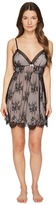 Oscar de la Renta 33 Romantic All Over Lace Chemise Women's Pajama
