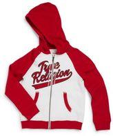 True Religion Little Boy's Old School Logo Hoodie