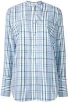 Ports 1961 checked tunic shirt