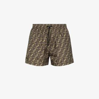 Fendi FF printed swim shorts