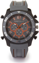 Perry Ellis Grey Silicone Watch