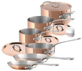 Mauviel M'Heritage - M'150S 10-Piece Copper & Stainless Steel Cookware Set