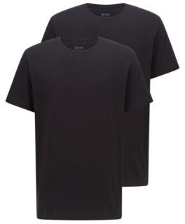 BOSS Two-pack of underwear T-shirts in pure cotton