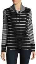 Jones New York Stripe Long-Sleeve Top