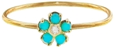 Jennifer Meyer Turquoise And Diamond Flower Ring