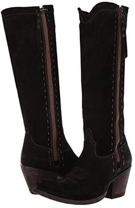 Ariat Giselle (Black Suede) Cowboy Boots