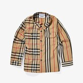 Burberry Amir Shirt (Infant/Toddler) (Archive Beige) Boy's Clothing