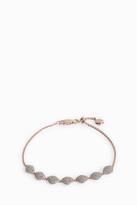 Monica Vinader Nura Diamond Teardrop Link Bracelet