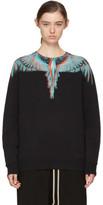 Marcelo Burlon County of Milan Black Silus Sweatshirt