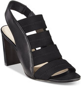 Alfani Women's Rennatah Strappy Slingback Sandals, Only at Macy's