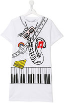 Stella McCartney Jazz print T-shirt - kids - Cotton/Polyester - 14 yrs