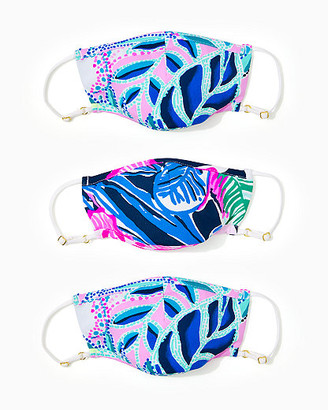 Lilly Pulitzer ChillyLilly Kids Face Mask Set