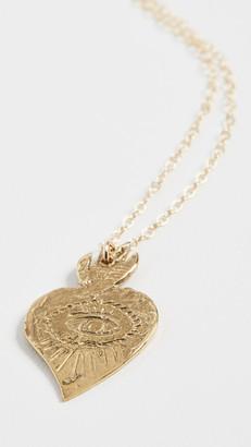Maison Monik Evil Eye Heart Necklace