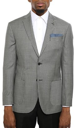 Michael Bastian Slim-Fit Gingham Wool Jacket