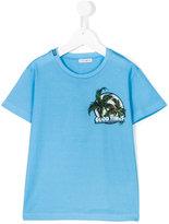 Dolce & Gabbana logo print T-shirt - kids - Cotton - 4 yrs