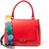 Anya Hindmarch Bathurst Small Leather Shoulder Bag - Red
