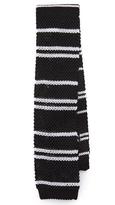 Paul Smith Stripe Silk Knit Tie