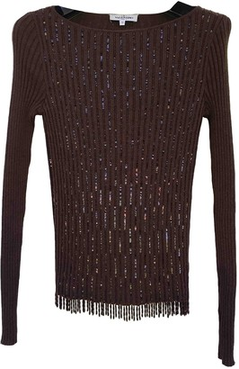 Valentino Brown Wool Knitwear for Women Vintage