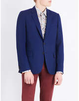 Paul Smith Hopsack woven Soho-fit wool jacket