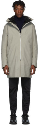 Veilance Grey Down Monitor Coat