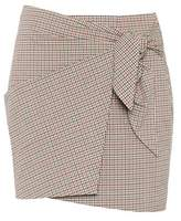 Etoile Isabel Marant Isabel Marant, Étoile Ninon stretch-cotton mini skirt