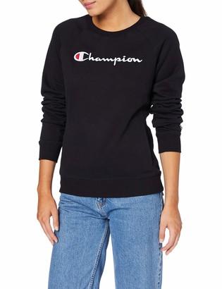Champion Woman - Classic Logo Sweatshirt - Black M