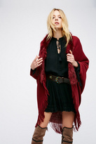 Womens AFTER PARTY FAUX FUR KIMO