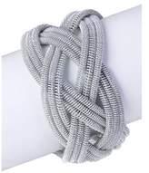 Saachi Silver Springs Crossed Bracelet.