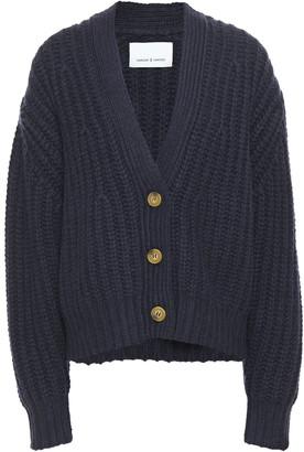 Samsoe & Samsoe Samse Samse Hal Ribbed-knit Cardigan
