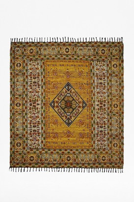 French Connection Large Amber Rug