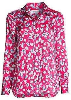 Equipment Women's Leema Floral Silk Blouse