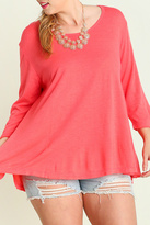 Umgee USA Coral Lightweight Sweater